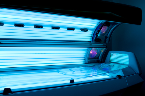 Tanning bed injuries
