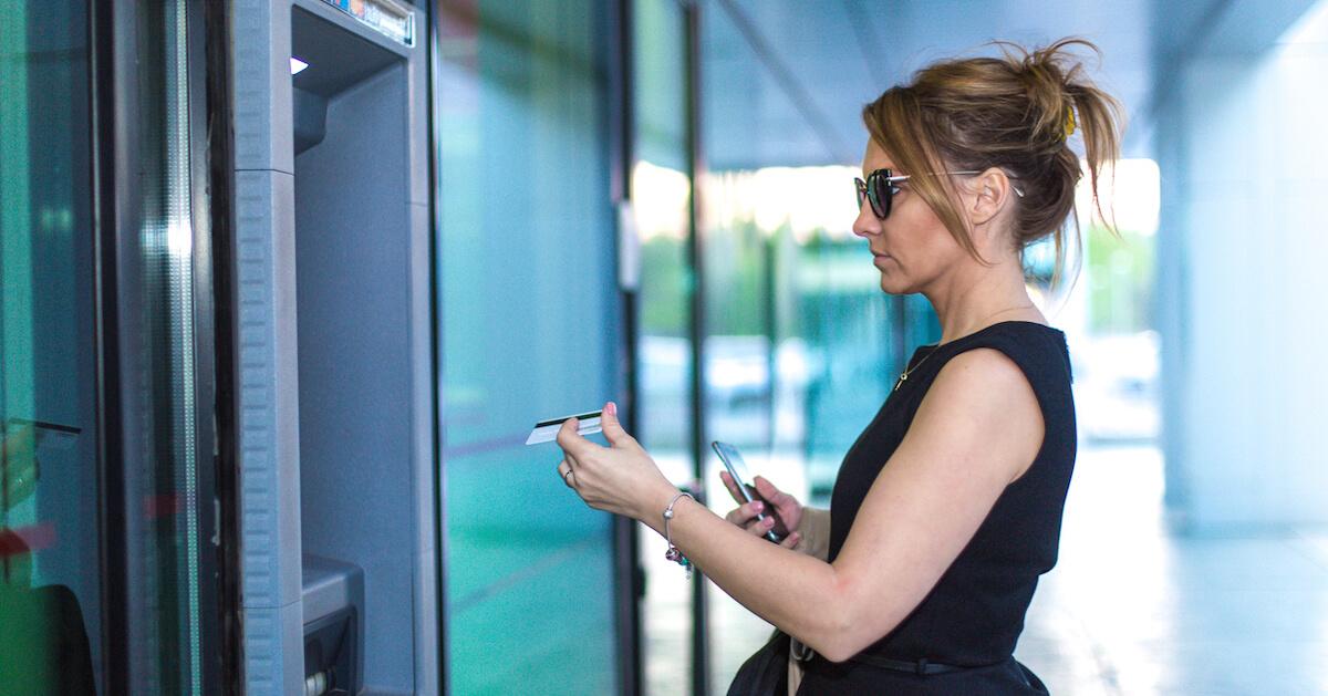 Using an ATM